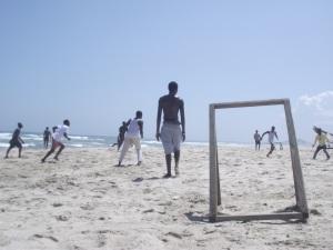 """""""Beach Football"""", by Cássio Serafim, Ghana, September 2012."""