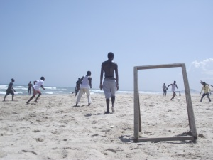 """Beach Football"", by Cássio Serafim, Ghana, September 2012."