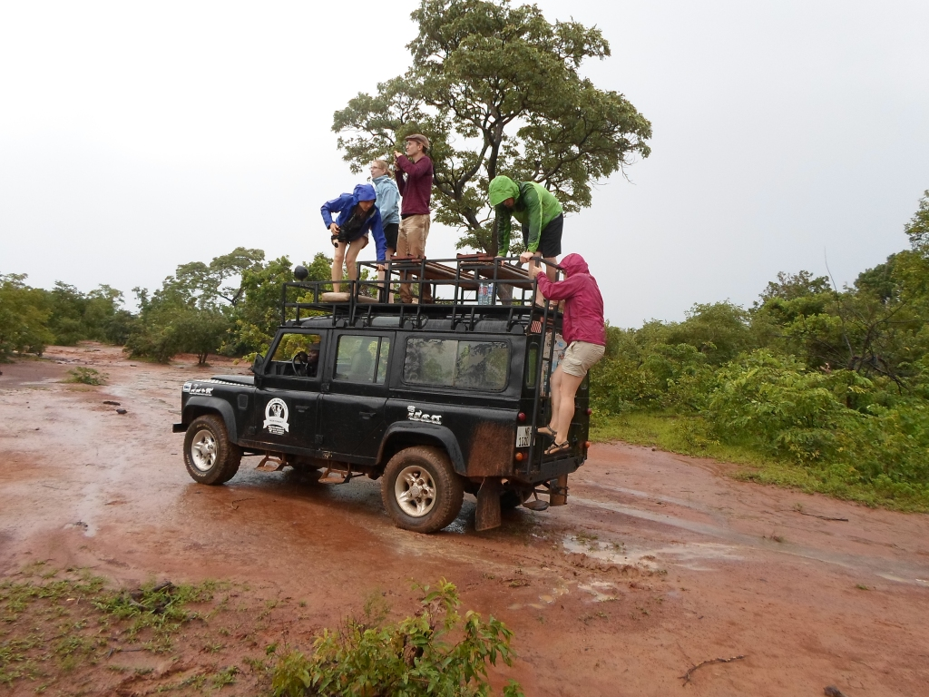 """Safari in Mole National Park"", by Cássio Serafim, Ghana, 2013"