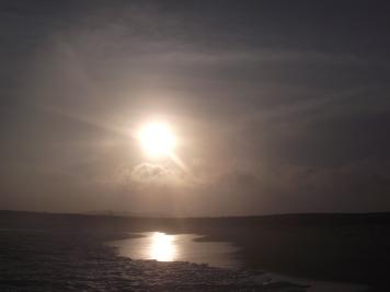 """""""Pôr-do-sol/Sunset"""", by Cássio Serafim, Bojo Beach/Ghana, 2012."""